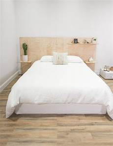 bett kopfteil diy 8 plywood headboard bed diy ideas poppytalk