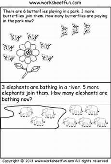 word problem worksheets kindergarten 11061 word problems free printable worksheets worksheetfun