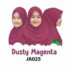 jilbab anak afrakids dusty magenta tokoafra