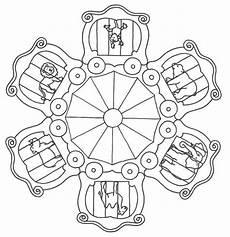 Malvorlagen Theme Mandala Dieren Th 232 Me Cirque Activit 233 S Cirque Cirque