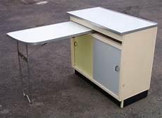 Küchenschrank Mit Ausziehbarer Arbeitsplatte - 50er 60er jahre k 252 chenschrank mit ausziehbarer