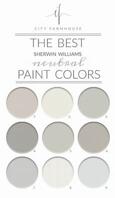 the best sherwin williams neutral paint colors