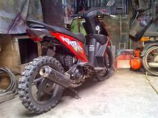 Beat Modif Trail by Honda Beat Modifikasi Trail Thecitycyclist