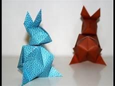 origami lapin de paques easter bunny senbazuru
