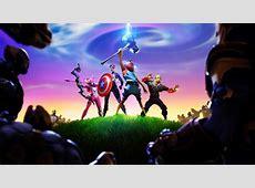 1366x768 Fortnite x Avengers 1366x768 Resolution Wallpaper