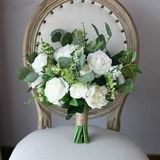 weiße blumen hochzeit janevini 2018 white bridal bouquet artificial