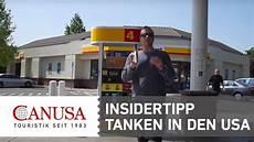 Insidertipp Zum Tanken In Den Usa Canusa