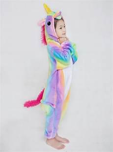 Malvorlagen Pj Masks Unicorn Children Rainbow Unicorn Kigurumi Pajamas Animal