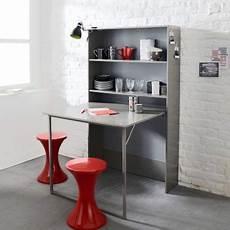 table cuisine escamotable ou rabattable table rabattable cuisine meuble cuisine avec table