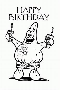 Gratis Malvorlagen Happy Birthday Coloring Pages At Getcolorings Free Printable