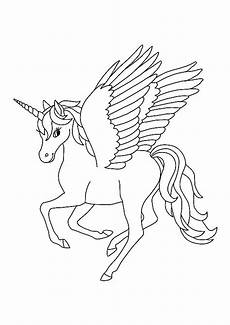 Malvorlagen Wings Unicorn Winged Unicorn Coloring Pages In 2020 Unicorn Coloring