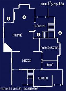 charmed house floor plan casa halliwell plano planta baja 2 charmed quinta