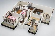 three roomed house plan 25 three bedroom house apartment floor plans