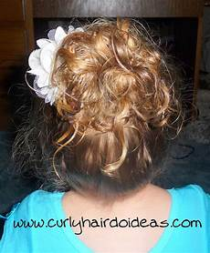 curly hairdo ideas toddler hairstyle for dance class