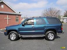 bermuda blue metallic 2005 chevrolet tahoe z71 4x4 exterior photo 62520940 gtcarlot com