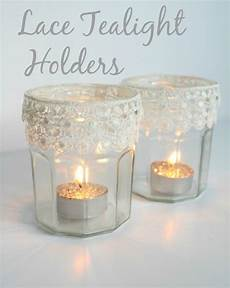 lace tealight holders by claireabellemakes project