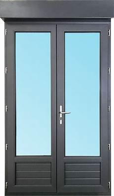 Porte Fen 234 Tre 2 Vantaux En Pvc H205xl140cm Volet Roulant