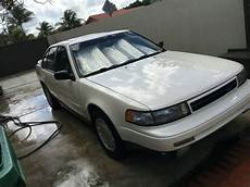 automotive air conditioning repair 1994 nissan maxima user handbook 1991 nissan maxima se sedan pearl white tan leather great condition no reserve for sale
