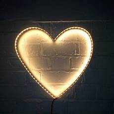 heart light for wall heart wall light by rawstudio notonthehighstreet com