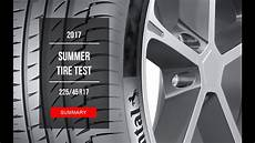 2017 summer tire test results 225 45 r17