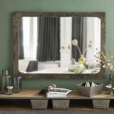 Spiegel Mit Metallrahmen In Antikoptik 110x80 Alvin