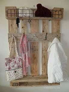 Garderobe Aus Paletten Palettenm 246 Bel Palette