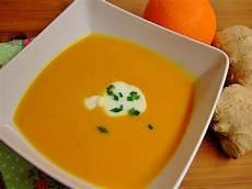 Ingwer Rezept - karottensuppe mit ingwer und orange rezept mit bild
