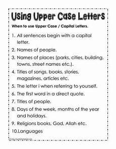 using capital letters k12 grammar capital letters worksheet english grammar worksheets