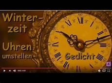 zeit umstellen 2018 fg179 zeitumstellung winterzeit gedicht 252 bers