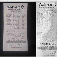 walmart receipt before and after background removal download scientific diagram