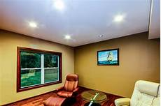 led recessed ceiling lighting traditional living room