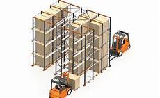 scaffali drive in scaffali drive through logistica efficiente il portale
