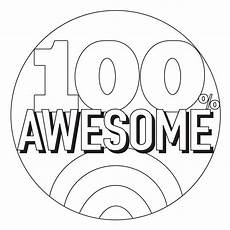 100 awesome coloring page