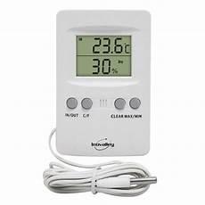 thermomètre extérieur intérieur thermom 232 tre int 233 rieur ext 233 rieur inovalley th01 leroy