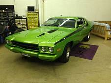 1973 Plymouth Roadrunner Mopar Classic Muscle Car