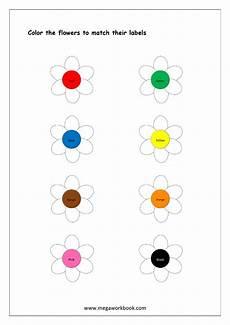 matching colors worksheet for kindergarten 12921 color recognition color worksheets for preschool kindergarten colors flower activities for