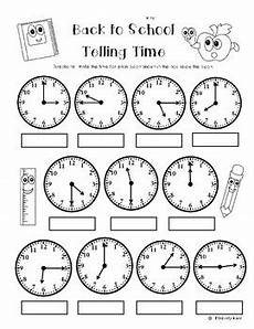 time worksheets 15580 back to school telling time to the quarter hour practice worksheet