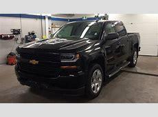 2018 Chevrolet Silverado 1500 Custom 4WD Crew Cab Black