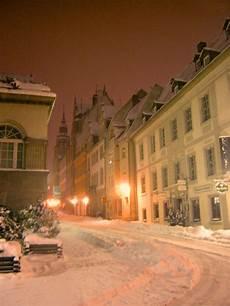 Fotograf Halle Saale - winterabend in halle an der saale stra 223 enszene halle
