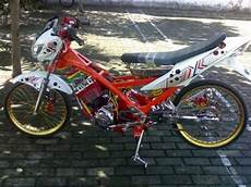 Modif Motor Fu by Hasil Modifikasi Motor Suzuki Satria Fu Drag Race