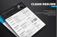 clean indesign resume template dealjumbo com discounted design bundles with extended license
