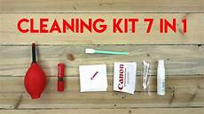 cleaning kit lengkap 7 in 1 untuk membersihkan kamera dslr mirrorless youtube