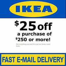 ikea coupon 25 250 valid on any purchase in store