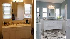 Bathroom Pictures Before And After by Small Bathroom Remodels Before And After Indoor Home