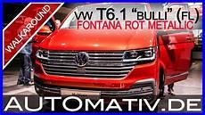 vw t6 1 bulli facelift 2019 in fontana rot metallic