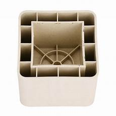 4pcs adjustable heavy duty furniture risers sofa bed table chair riser legs lift ebay