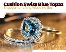 peora london blue topaz ring in sterling silver rhodium nickel finish