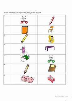 worksheets classroom objects 18220 classroom objects pictures worksheet free esl printable worksheets made by teachers