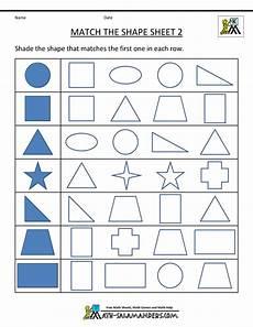 printable worksheets shapes kindergarten worksheet for kindergarten shapes world of reference