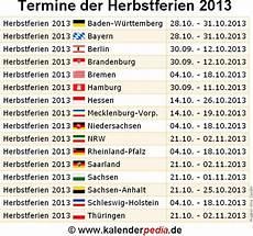 Herbstferien 2015 Und 2016 In Deutschland Alle Bundesl 228 Nder